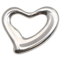 Tiffany & Co Elsa Peretti Vintage Sterling Open Heart Belt
