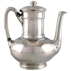 Tiffany & Co. 'New York' Coffee Pot in Sterling Silver, Late 19th Century