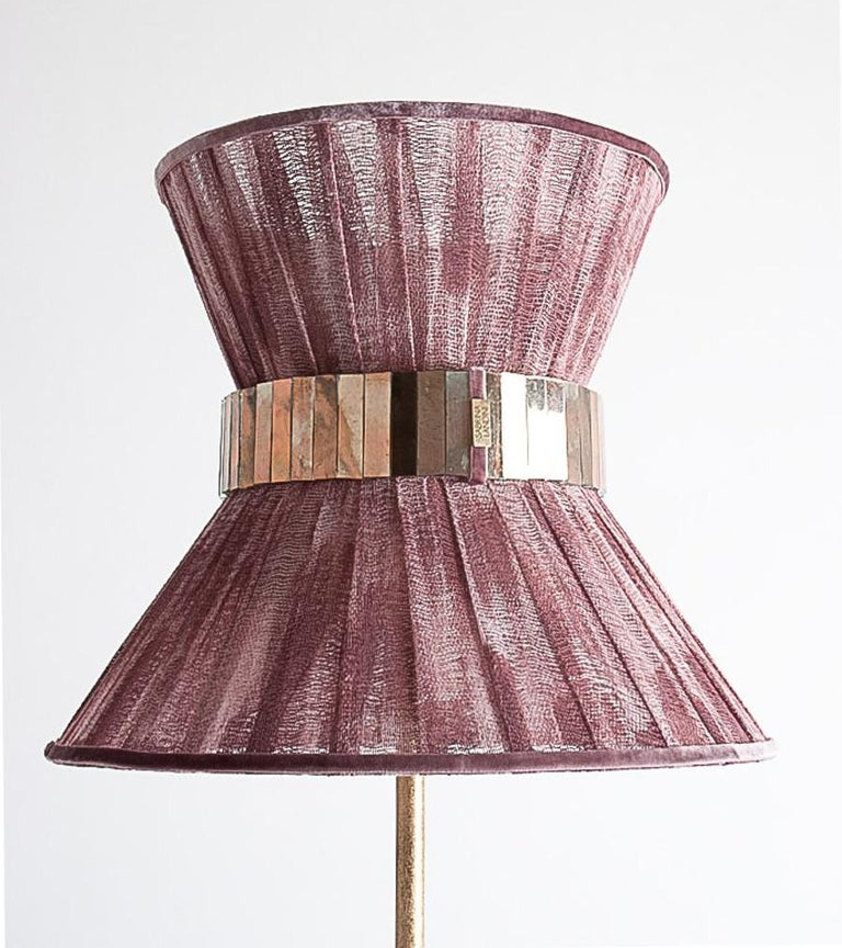 This light object is a contemporary piece, entirely made in Tuscany-Italy and 100% of Italian origin. Measure: 30 cm Tiffany lamp is Sabrina's first creation and is inspired by Audrey Hepburn's timeless charm. Attractive, elegant, available in many