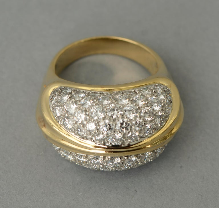 Modern Tiffany & Co. Diamond Cocktail Ring For Sale