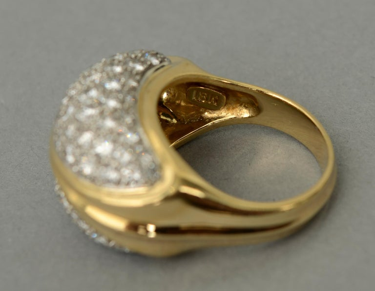 Tiffany & Co. Diamond Cocktail Ring In Excellent Condition For Sale In Darnestown, MD