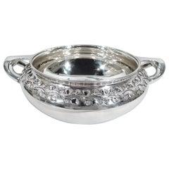 Tiffany Edwardian Art Nouveau Sterling Silver Centerpiece Bowl