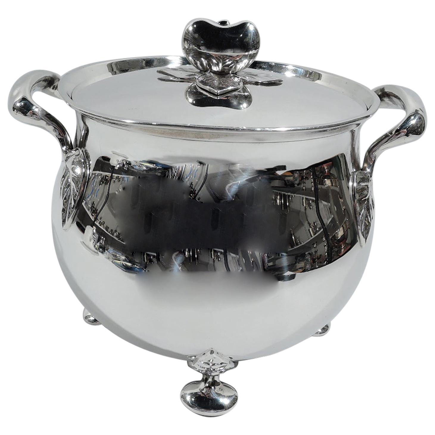 Tiffany English Sterling Silver Ice Bucket