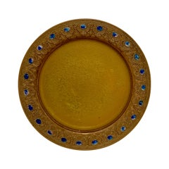 Tiffany Furnaces Bronze Plate