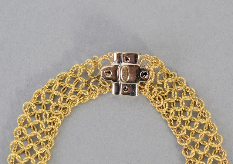 Tiffany & Co. Gold and Diamond Necklace For Sale 1