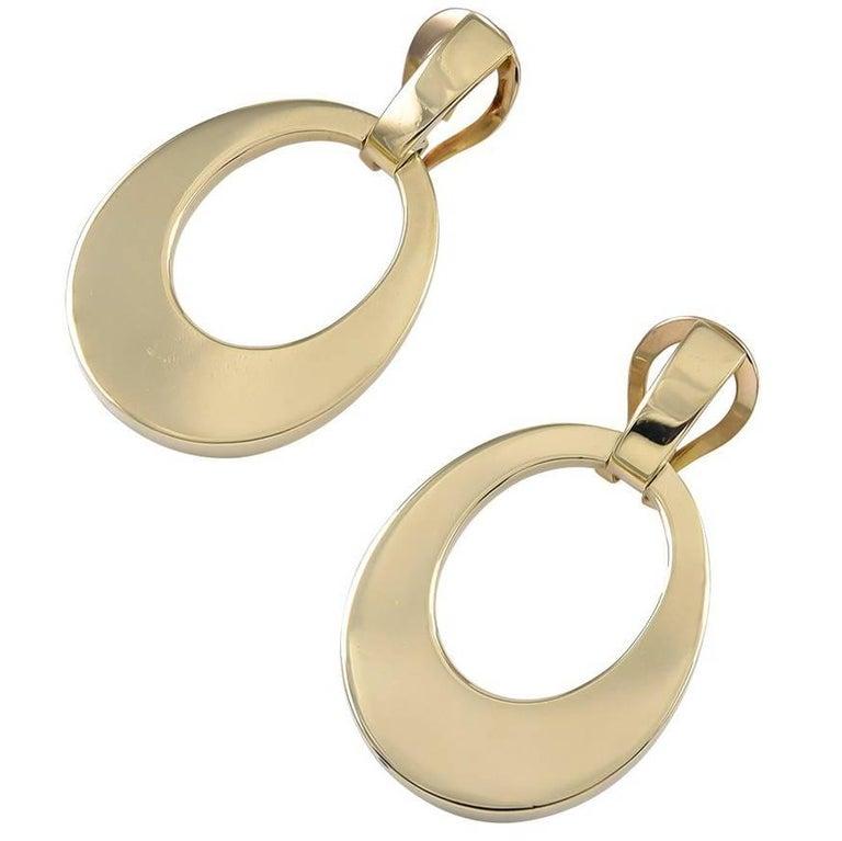 Tiffany & Co. Gold Drop Earrings