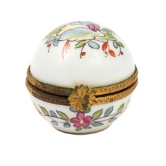 Tiffany & Co. Limoges Hand Painted Porcelain Box