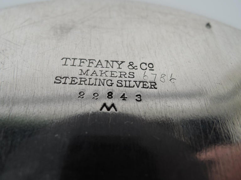 Tiffany Mid-Century Modern Sterling Silver Bowl In Excellent Condition For Sale In New York, NY