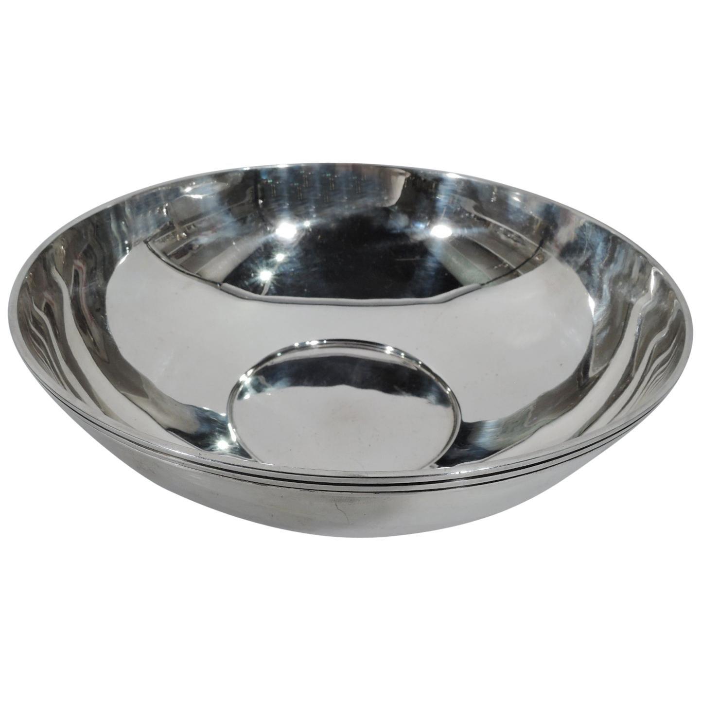Tiffany Mid-Century Modern Sterling Silver Bowl