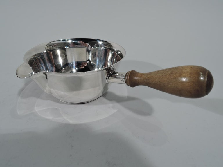 American Tiffany Mid-Century Modern Sterling Silver Pipkin For Sale