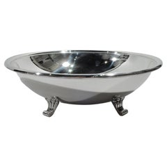 Tiffany Midcentury Classical Sterling Silver Bowl