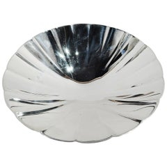 Tiffany Midcentury Modern Sterling Silver Bowl