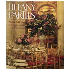 Tiffany Parties Decorative Vintage Coffee Table Book