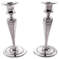 Tiffany & Co. Sterling Candlesticks