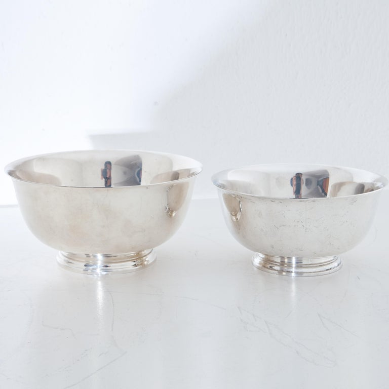 Tiffany Sterling Silver Bowls, 20th Century In Good Condition For Sale In Greding, DE