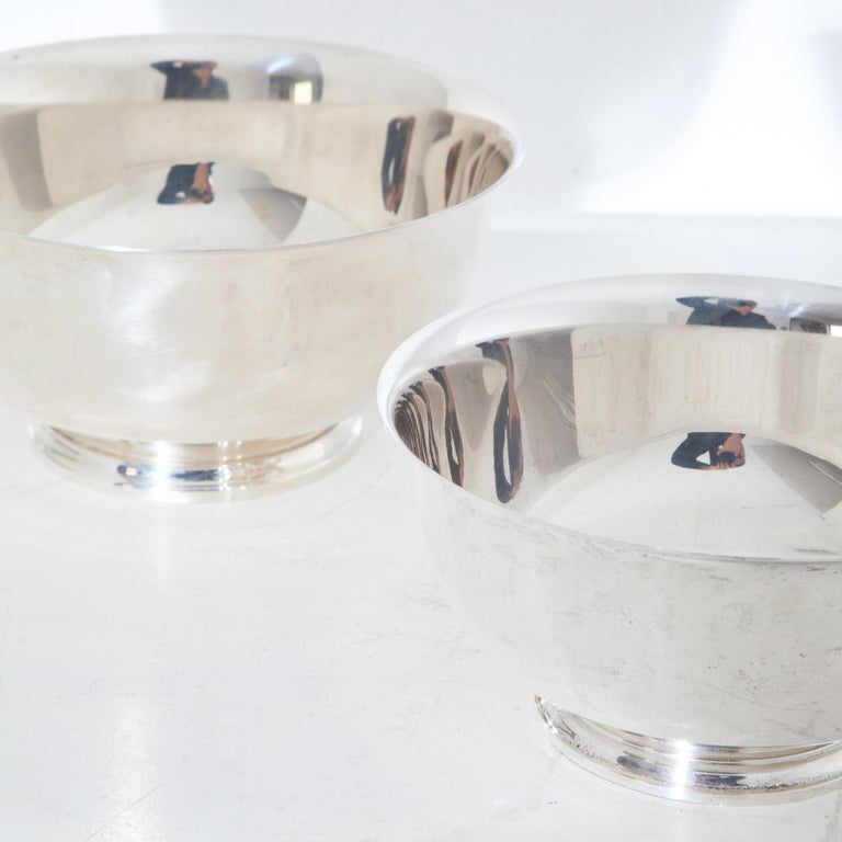 Tiffany Sterling Silver Bowls, 20th Century For Sale 1