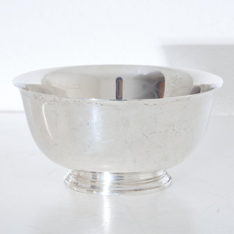 Tiffany Sterling Silver Bowls, 20th Century For Sale 2