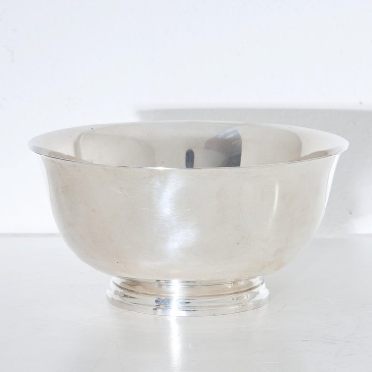 Tiffany Sterling Silver Bowls, 20th Century For Sale 3