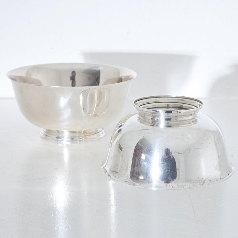 Tiffany Sterling Silver Bowls, 20th Century For Sale 4