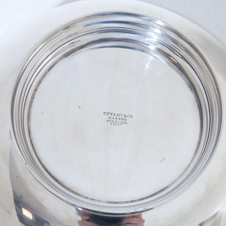Tiffany Sterling Silver Bowls, 20th Century For Sale 5