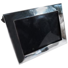 Tiffany Sterling Silver Picture Frame in Hard-to-Find Landscape Format