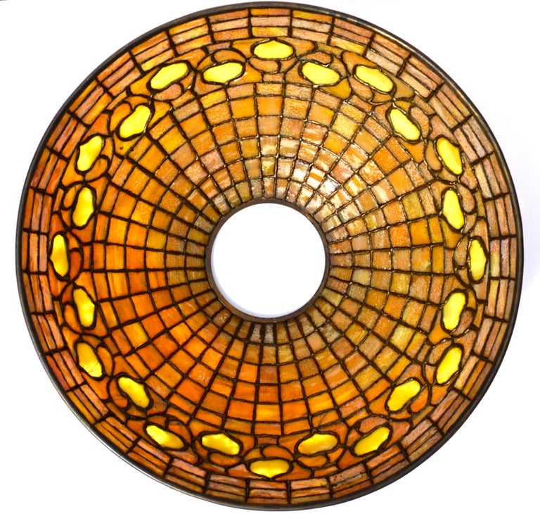 Tiffany Studios Acorn Table Lamp 2