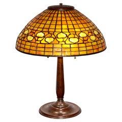 """Tiffany Studios """"Acorn"""" Table Lamp"""