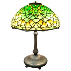 "Tiffany Studios ""Bell Flower"" Table Lamp"