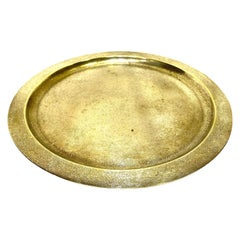 Tiffany Studios Bronze Round Tray