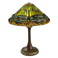 "Tiffany Studios ""Dragonfly"" Table Lamp"
