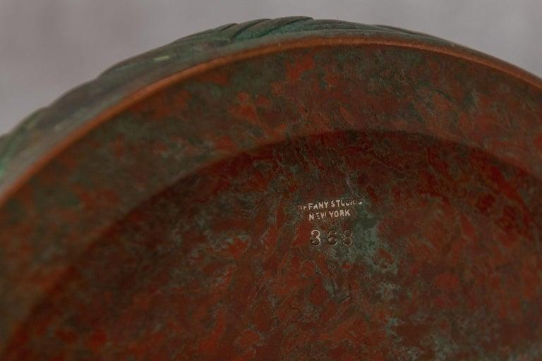 Tiffany Studios Filagree Poppy Table Lamp For Sale 1