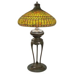 "Tiffany Studios ""Geometric"" Table Lamp"
