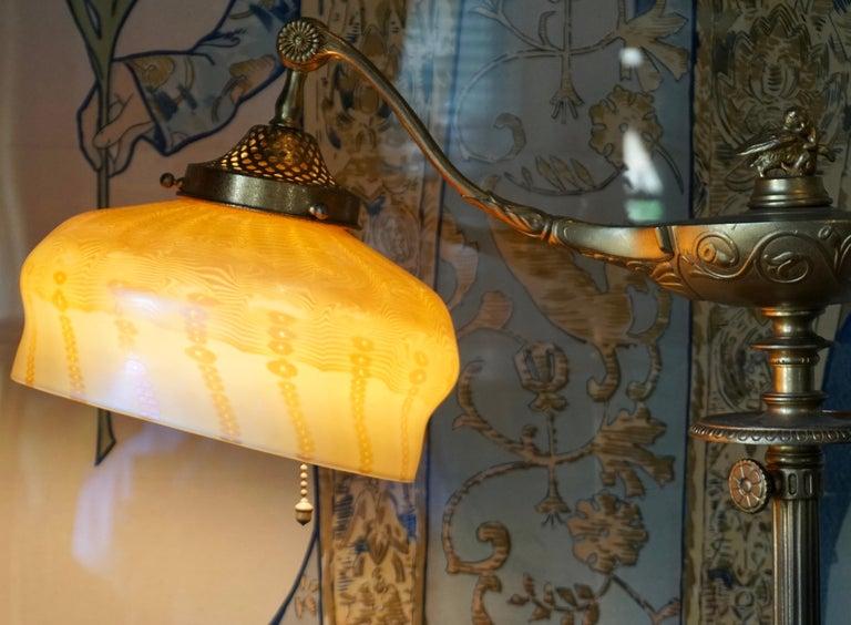 Tiffany Studios Gilt Bronze And Damascene Favrile Aladdin