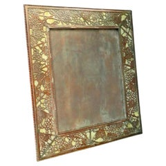 Tiffany Studios Large Grapevine Picture Frame