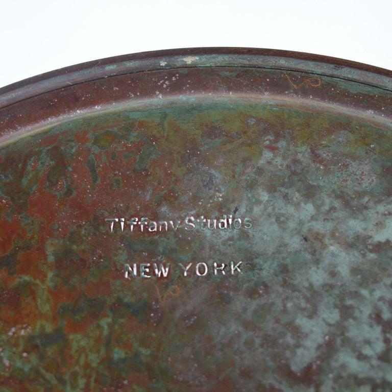 Tiffany Studios Lemon Leaf Table Lamp For Sale 4