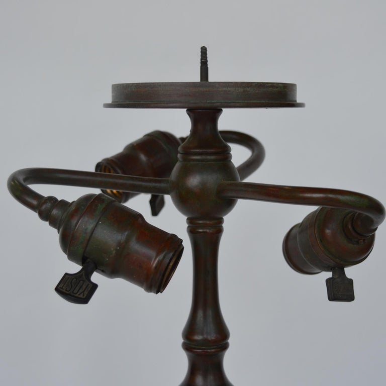Tiffany Studios Lemon Leaf Table Lamp For Sale 5