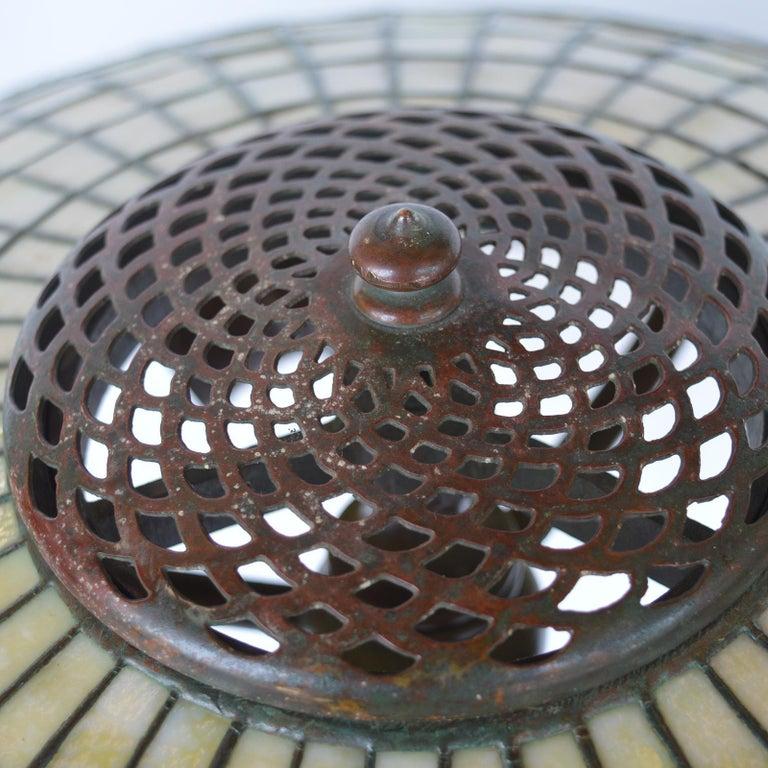 Tiffany Studios Lemon Leaf Table Lamp For Sale 9