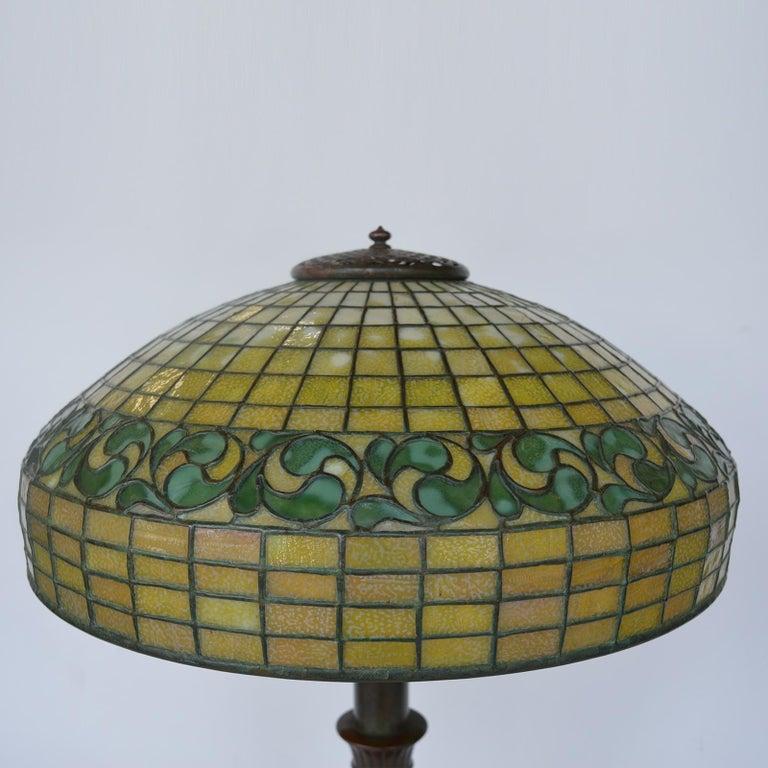 Tiffany Studios Lemon Leaf Table Lamp For Sale 10