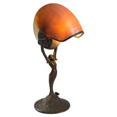 "Tiffany Studios ""Nautilus"" Desk Lamp"