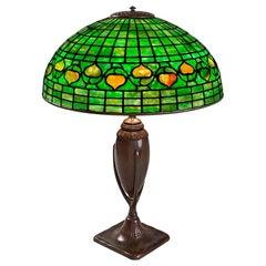 "Tiffany Studios New York ""Acorn"" Table Lamp"
