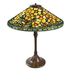 "Tiffany Studios New York ""Alamander"" Table Lamp"