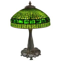 "Tiffany Studios New York ""Belted Turtleback"" Table Lamp"