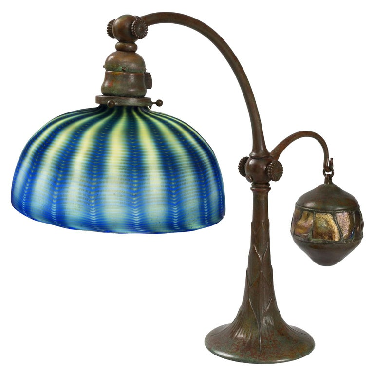 "Tiffany Studios New York ""Counter Balance"" Desk Lamp For Sale"