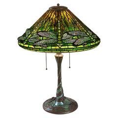 "Tiffany Studios New York ""Dragonfly"" Table Lamp"