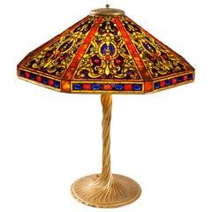"Tiffany Studios New York ""Elizabethan"" Table Lamp"