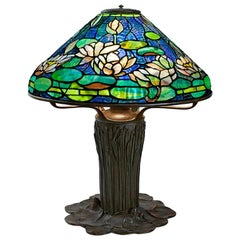 "Tiffany Studios New York ""Flowering Water Lily"" Table Lamp"