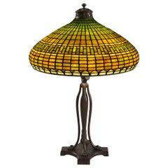 "Tiffany Studios New York ""Geometric"" Table Lamp"
