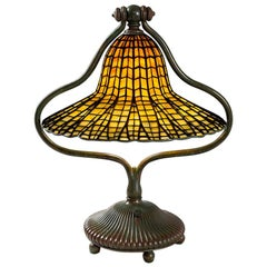 "Tiffany Studios New York ""Lotus Bell"" Desk Lamp"