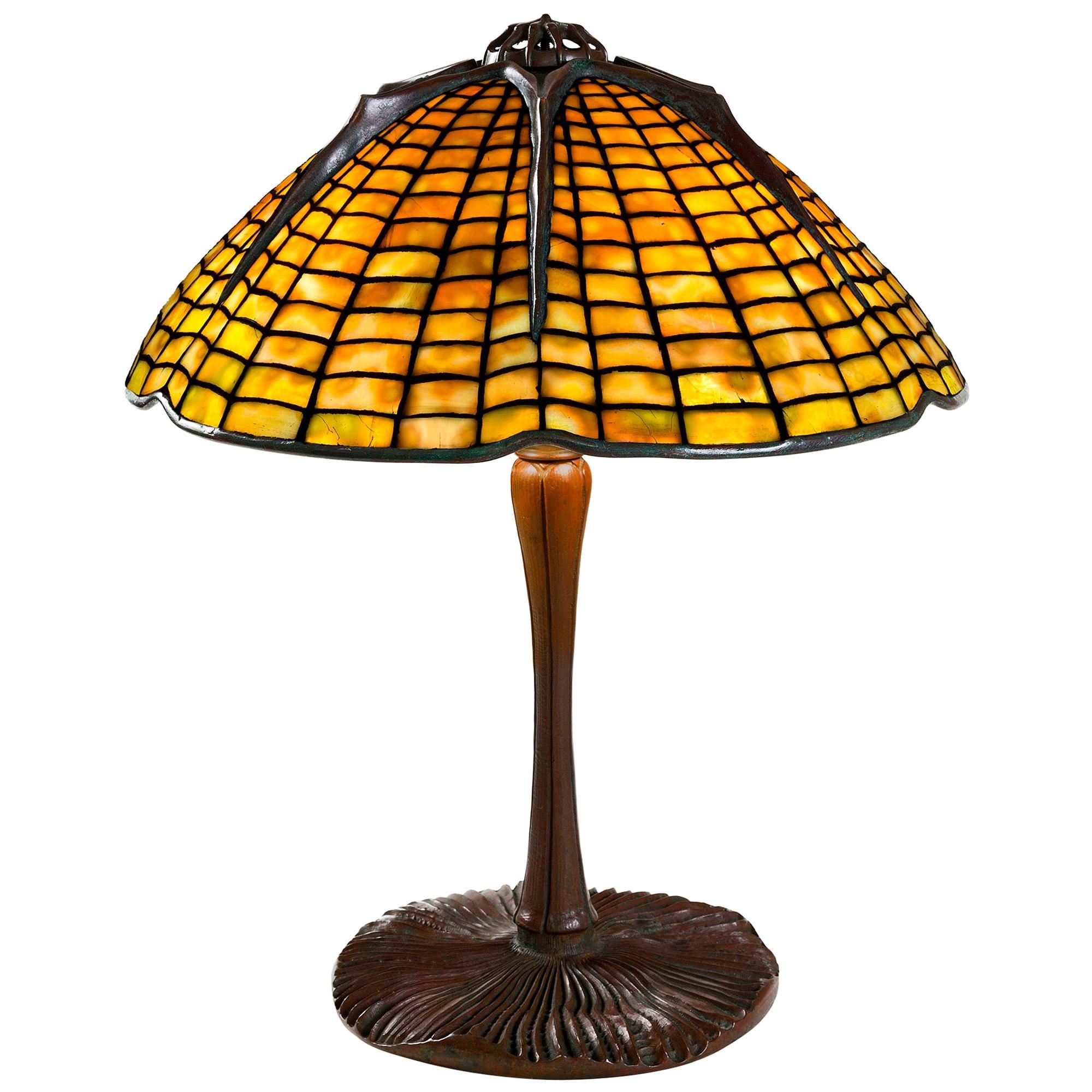 "Tiffany Studios New York ""Spider"" Table Lamp"