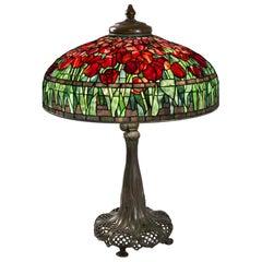 "Tiffany Studios New York ""Tulip"" Table Lamp"
